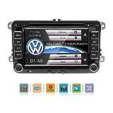7 Zoll HD Auto-Stereo für Volkswagen Touchscreen-DVD-Spieler 2 Din Navigation GPS Bluetooth Unterstützung Fernbedienung Stereo/AVI / UKW/USB / MP4 / MP3 / USB/CD / AUX/FM / iPod/iPhone