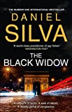 Front cover for the book The Black Widow by Daniel Silva