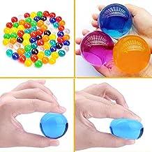 Grandes perlas de agua de 0,09 l, paquete de 100unidades, bolas de gel que aumentan de tamaño, para niños, juguetes táctiles y jarrón de relleno