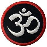 EmbTao Buddhistisches Symbol Innerer Frieden Bestickter Aufnäher Zum Aufbügeln/Annähen