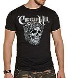 Cypress Hill - T-Shirt - Manches Courtes - Homme Noir Noir - Noir - Medium