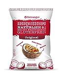Heimatgut Kokosnusschips Original 3-fach gebackene Chips aus Kokosnuss. Veganer und