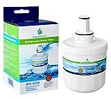 AquaHouse AH-S3G filtro de agua compatibles para Samsung nevera DA29-00003G, HAFCU1 / XAA, HAFIN2 / EXP, DA97-06317A