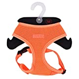 Puppia PAPA-AC1325 Geschirr, Neon Soft, M, orange