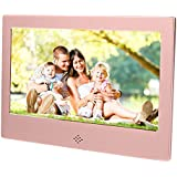 "Epyz HD Ready Digital Photo Frame with Fully Functional Remote (7"" inch, Rose Gold)"