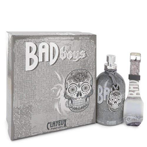 Bad for Boys by Clayeux Parfums Eau De Toilette Spray + Free LED Watch 3.4 oz / 100 ml (Men)