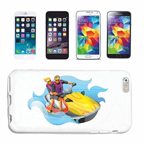 Handyhülle iPhone 7'JET SKI JETSKI BOOTE UND BOOTSZUBEHÖR JETSKI FÜHRERSCHEIN' Hardcase Schutzhülle Handycover Smart Cover für Apple iPhone in Weiß