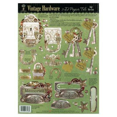 Vintage Tole (Hot Off The Press 3D-Papier Tole Folie Stanzformen: Vintage Hardware)