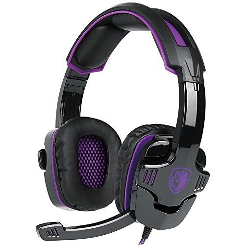 Docooler SADES SA-930 3,5-mm-Gaming-Headsets mit Mikrofon Noise Cancellation Musik-Kopfhörer für PS4 New Xbox One Laptop Tablet PC Mobile Phones