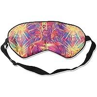 Eye Mask Eyeshade Human Watercolor Sleep Mask Blindfold Eyepatch Adjustable Head Strap preisvergleich bei billige-tabletten.eu