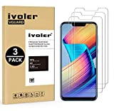 [Lot de 3] Verre Trempé Huawei Honor Play [Garantie à Vie], iVoler Film Protection en Verre trempé écran Protecteur - ANTI RAYURES - SANS BULLES D'AIR - Ultra Résistant Dureté 9H Glass Screen Protector pour Huawei Honor Play