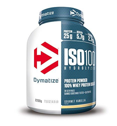 Dymatize ISO 100 Protein, Gourmet Vanilla, 2,2 kg Dose