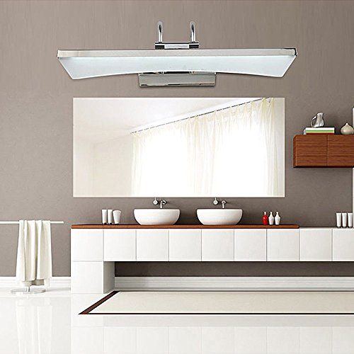 VINGO® Acryl Spiegellampe LED 9W Moderne Badezimmer Wandleuchte Wasserdicht