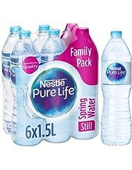 Nestlé Pure Life Still Spring Water, 6 x 1.5 Litre