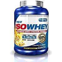 Quamtrax ISO Whey - Proteína en polvo, 2.27 kg, sabor  Cookies-Cream