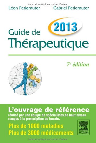 Guide de thrapeutique 2013