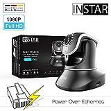 INSTAR IN-8015 Full HD (PoE Version) schwarz / IP Kamera / 1080p / ONVIF / Netzwerk / Überwachungskamera / Videokamera / Sicherheitskamera / LAN / PoE 802.3af / Power Over Ethernet / PIR / WDR / Bewegungserkennung / Infrarot Nachtsicht / Weitwinkel / steuerbar / Mikrofon / Lautsprecher / Baby Monitor / P2P / DDNS