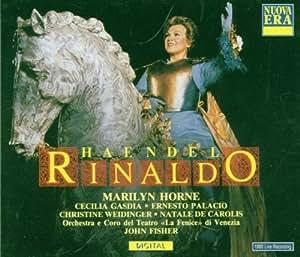 Handel - Rinaldo / Horne . Gasdia . Palacio . Weidinger . De Carolis . Fisher (Teatro La Fenice di Venezia 1989) [Import anglais]