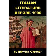 Italian Literature Before 1900 (English Edition)