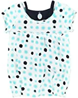 3Pommes Baby Girl's Cotton Tunic Navy Girl
