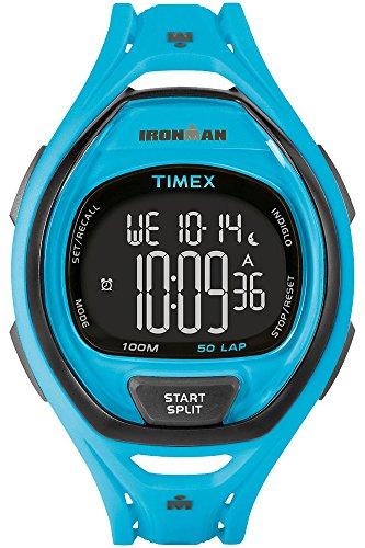 Timex Mens iron man INDIGLO alarme élégant bleu chronographe TW5M01900