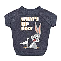 """Warner Brothers Looney Tunes""""What's Up Doc?"""" Bugs Bunny Dog T Shirt, Size Medium 