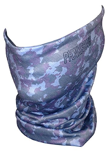 phunkshun Tragen-Double Layer Thermo Hals Tube, Camo Water, Einheitsgröße -