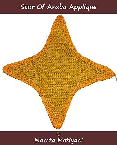Star of Aruba   Crochet Flag Pattern: A Unique Applique For Blankets, Hats, Curtains, Bags (Crochet Applique Patterns) (English Edition) Applique Hat