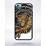 Générique Coque Champion Mascot Compatible Apple iphone 5c Bord Noir Silicone