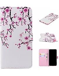 für Smartphone Samsung Galaxy A6 2018 Hülle, Leder Tasche für Samsung Galaxy A6 2018 (5.6 Zoll) Flip Cover Handyhülle Bookstyle mit Magnet Kartenfächer Standfunktion #1