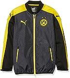 Puma Kinder Jacke BVB Cup Stadium Jacket, Black-Cyber Yellow, 152, 749841 02
