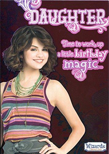 les-sorciers-de-waverly-place-carte-danniversaire-daughter-it-s-temps-de-travail-dun-peu-de-magie
