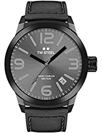 TW Steel Marc Coblen Edition mit Lederband 42 MM Grey Sunray/Black TWMC8