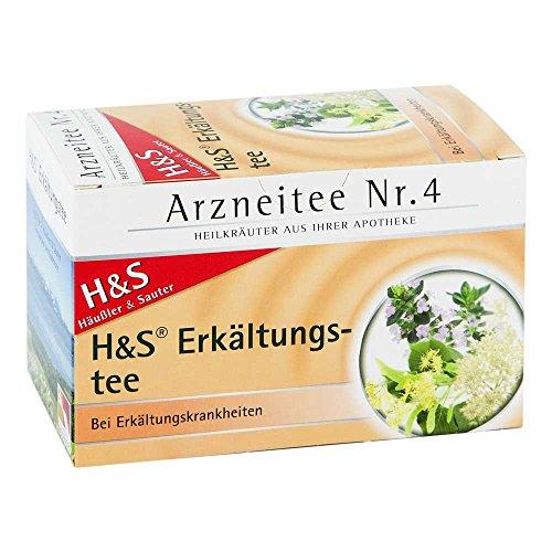 H&S Erkältungstee Arzneitee Nr. 4 Filterbeutel, 20 St.