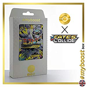 Mega ALTARIA EX 121/124 Full Art - #myboost X Fates Collide XY 10 - Caja de 10 Cartas Pokémon inglesas