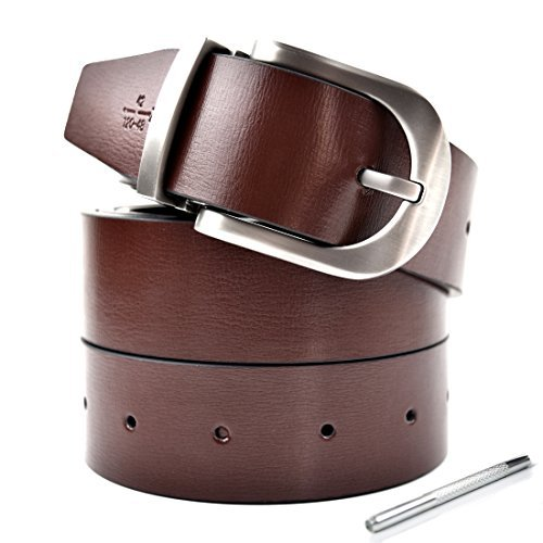 mens-reversible-belts-for-men-genuine-brown-leather-belt-with-removable-buckle-nickel-free-casual-je
