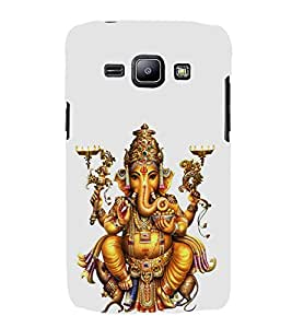 FUSON Lord Ganesha With Mouse 3D Hard Polycarbonate Designer Back Case Cover for Samsung Galaxy J2 (6) 2016 J210F :: Samsung Galaxy J2 Pro (2016)