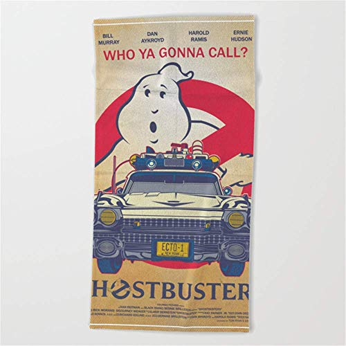 Call Ghostbusters Movie Poster Beach Towel 31.5