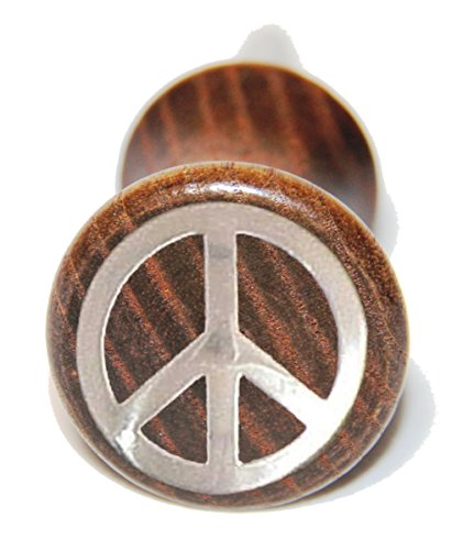 Custom Peace Sign Wein Flasche - Western Boot Toppers