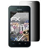 atFolix Blickschutzfilter für Huawei Ascend Y330 Blickschutzfolie - FX-Undercover 4-Wege Sichtschutz Displayschutzfolie