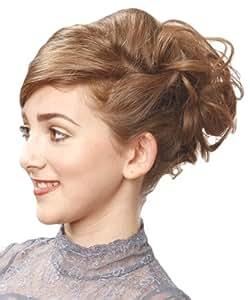 lastique cheveux rev tement en extensions de m ches boucl es chignon haut pour cr er ou bas. Black Bedroom Furniture Sets. Home Design Ideas