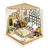 Robotime Camera da letto in legno – Dolls House Furniture…
