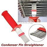 "Generic Red Universal Fin Condenser Coil Comb Brush Rake Straightener Cleaner 8. 3"""