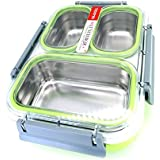 Clastik Insulated Stainless Steel Lunch Box, Tiffin Box, Snacks Box With Removable Inner Bowls