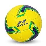 Nivia 1019 Brazil Football, Youth Size 5 (Yellow)
