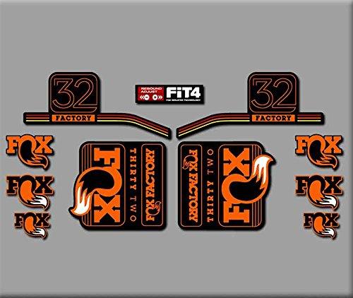 pegatinas-horquilla-fox-32-r283-stickers-aufkleber-decals-autocollants-adesivi-naranja
