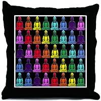 CafePress–Buddha arcobaleno–Throw Pillow, cuscino decorativo Accent, Cover +