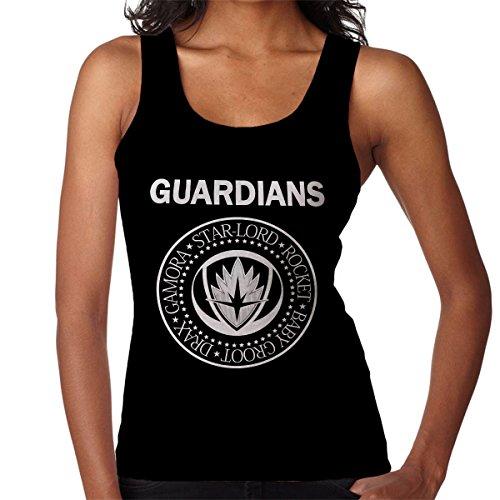 Guardians Of The Galaxy Ramones Women's Vest Black