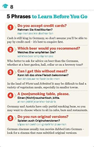 Lonely Planet German Phrasebook & Dictionary - 7