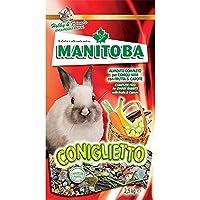 MANITOBA Mangime per coniglio coniglietto kg. 1 - Mangimi roditori